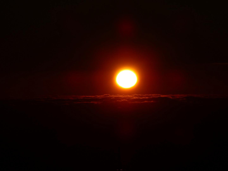 Sonnenuntergang im Taunus