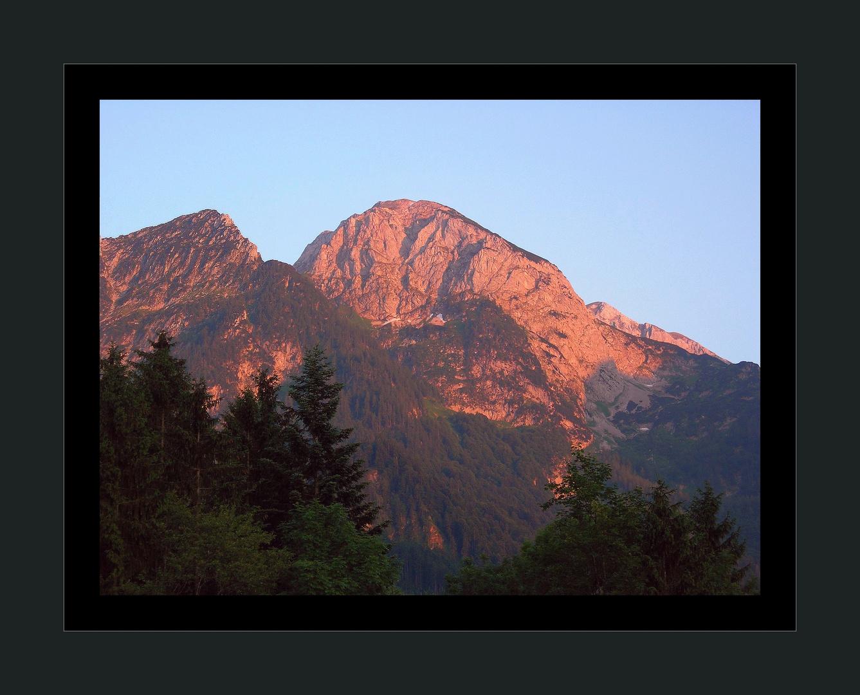 Sonnenuntergang im Tennengebirge