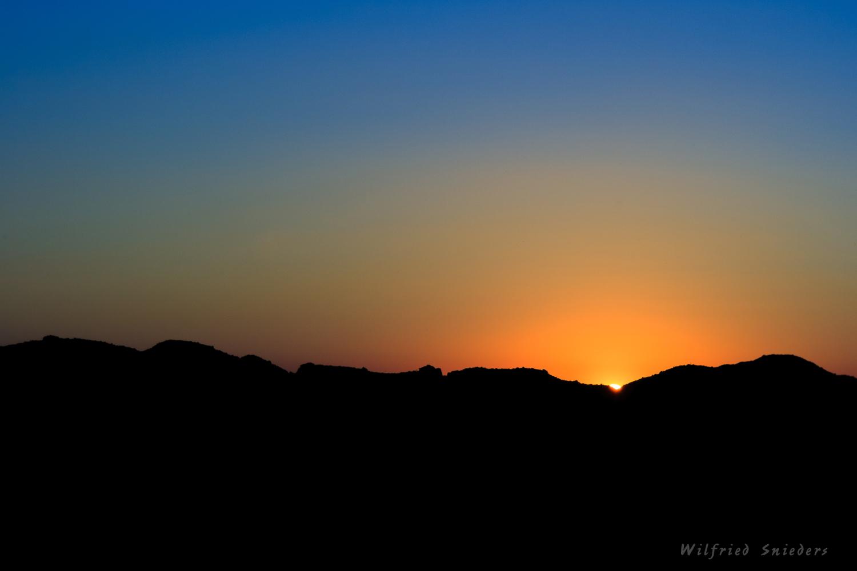 Sonnenuntergang im Torfabbaugebiet Twist-Adorf