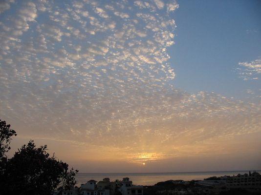 Sonnenuntergang im Valle Gran Rey