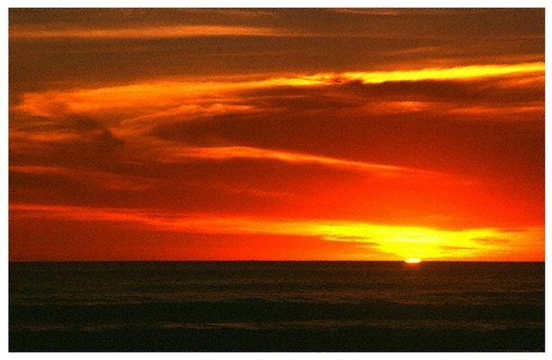 Sonnenuntergang im West Coast National Park