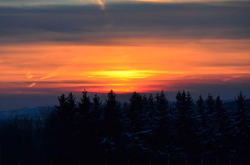 Sonnenuntergang im Winter 5