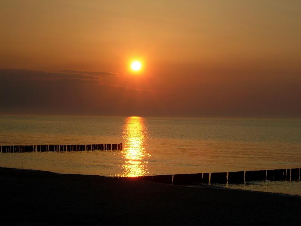 Sonnenuntergang in.....