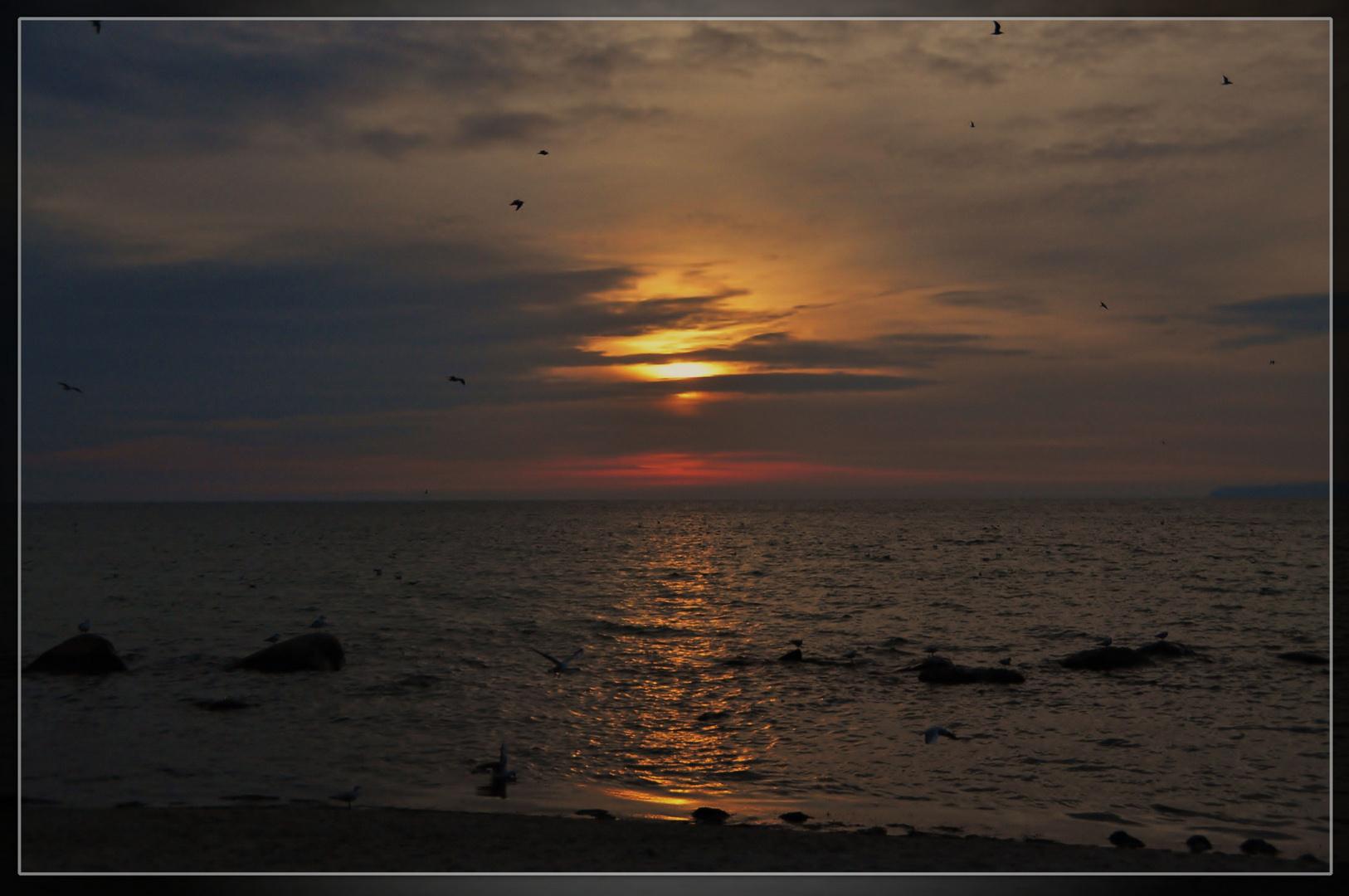Sonnenuntergang in ...