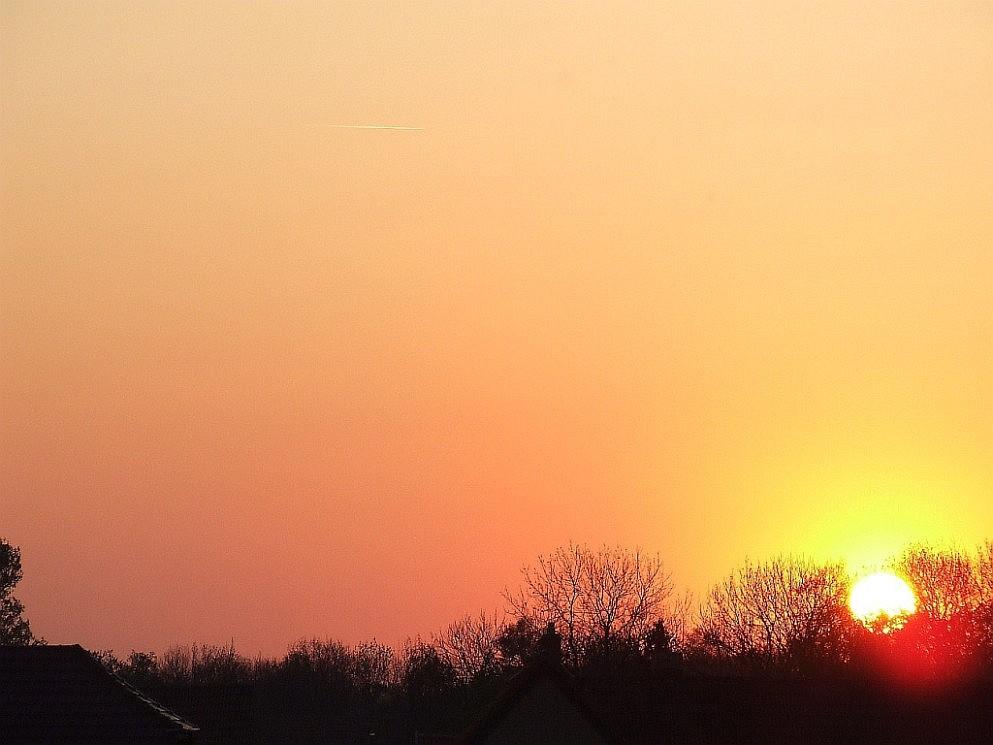 Sonnenuntergang in 99334 Kirchheim