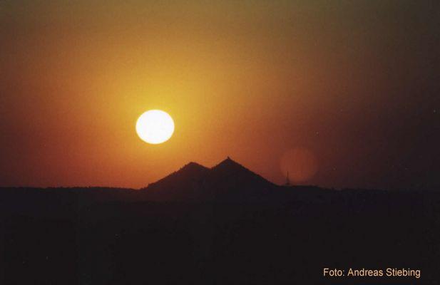 Sonnenuntergang in Ägypten?
