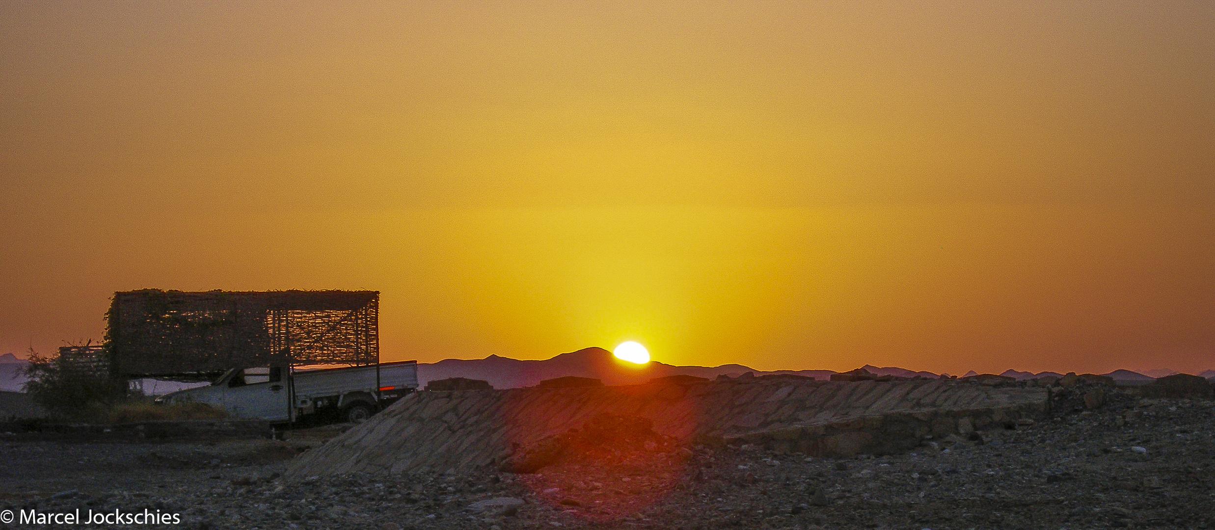 Sonnenuntergang in Ägypten (Safaga)