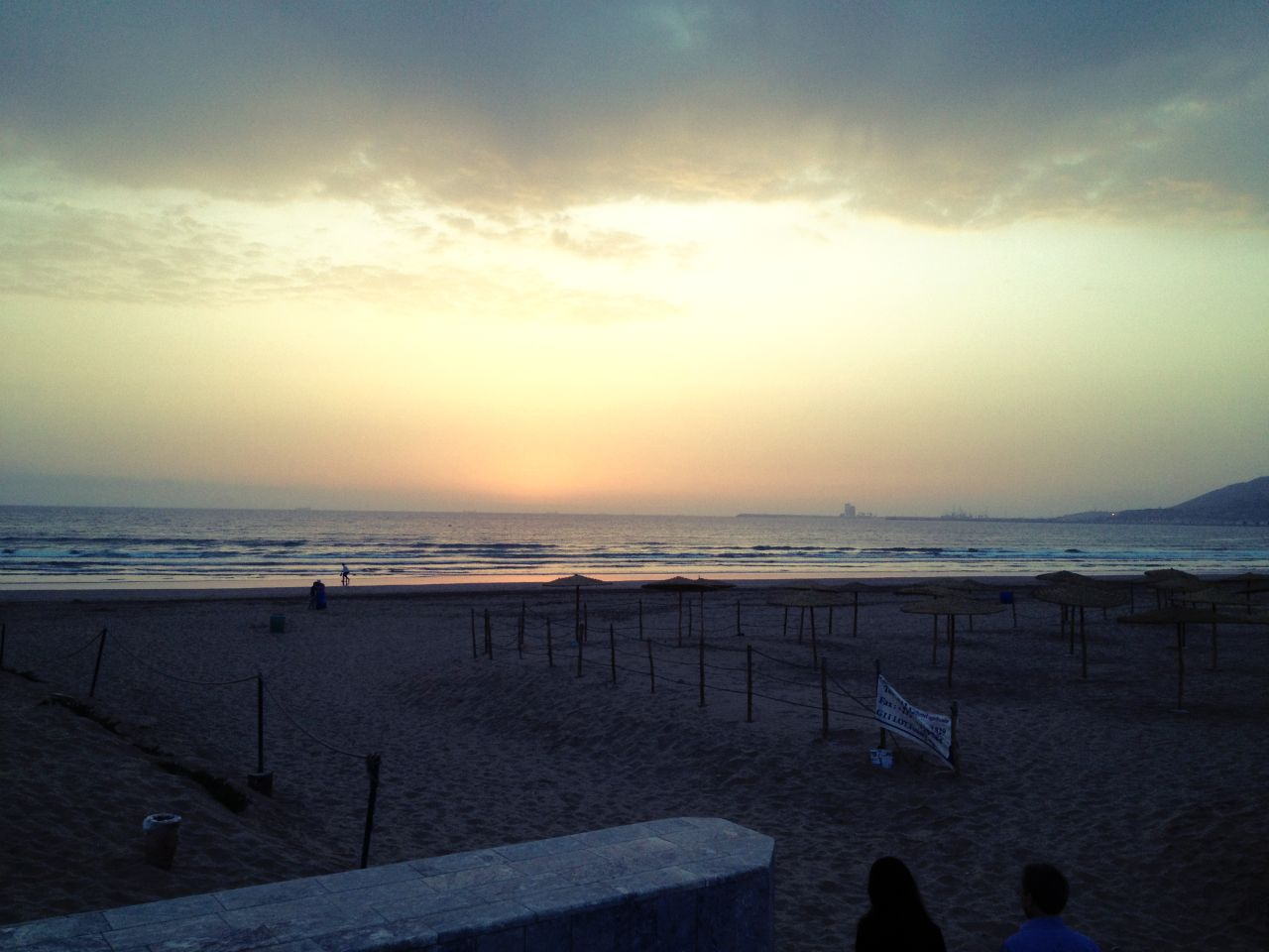 Sonnenuntergang in Agadir