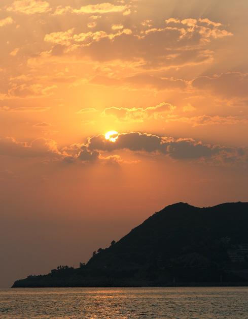 Sonnenuntergang in Alanya #2