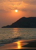 Sonnenuntergang in Alanya