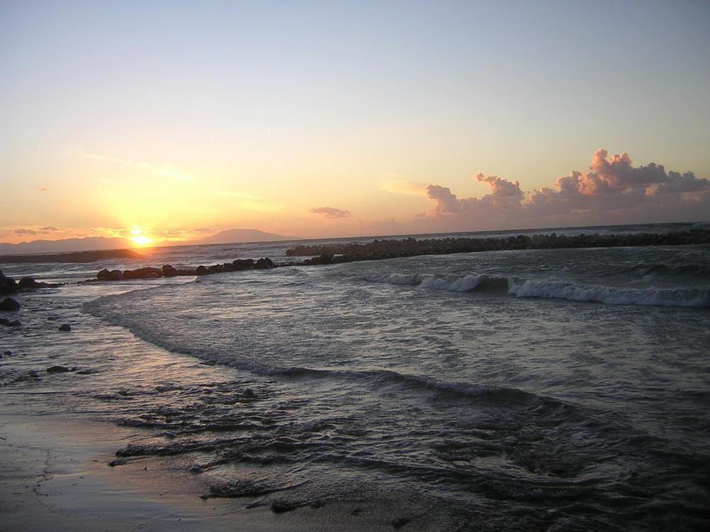 Sonnenuntergang in Algerien