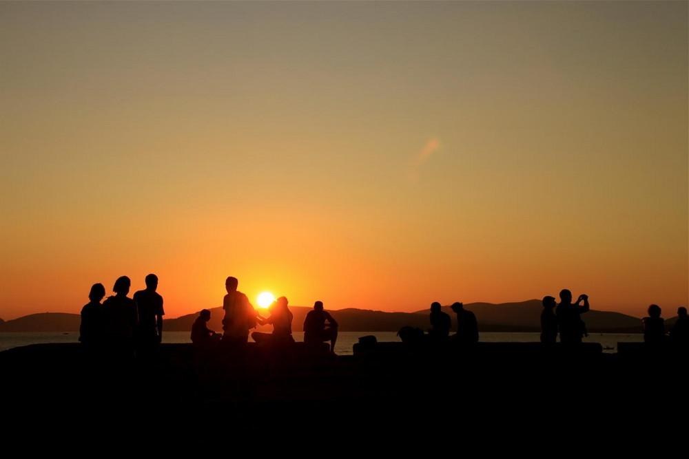 Sonnenuntergang in Alghero