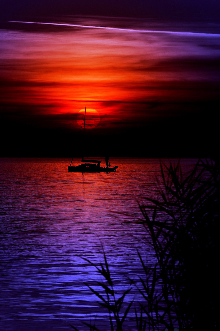 Sonnenuntergang in anderen Farben...