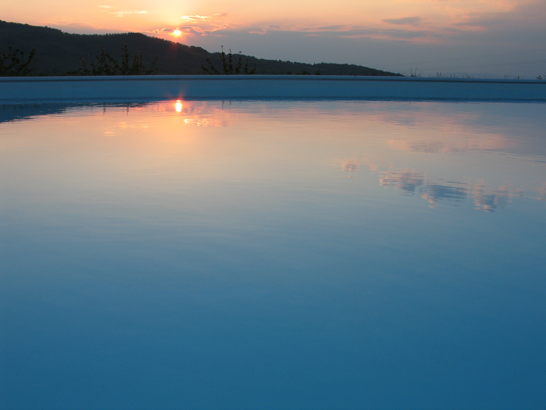 Sonnenuntergang in Arcidosso