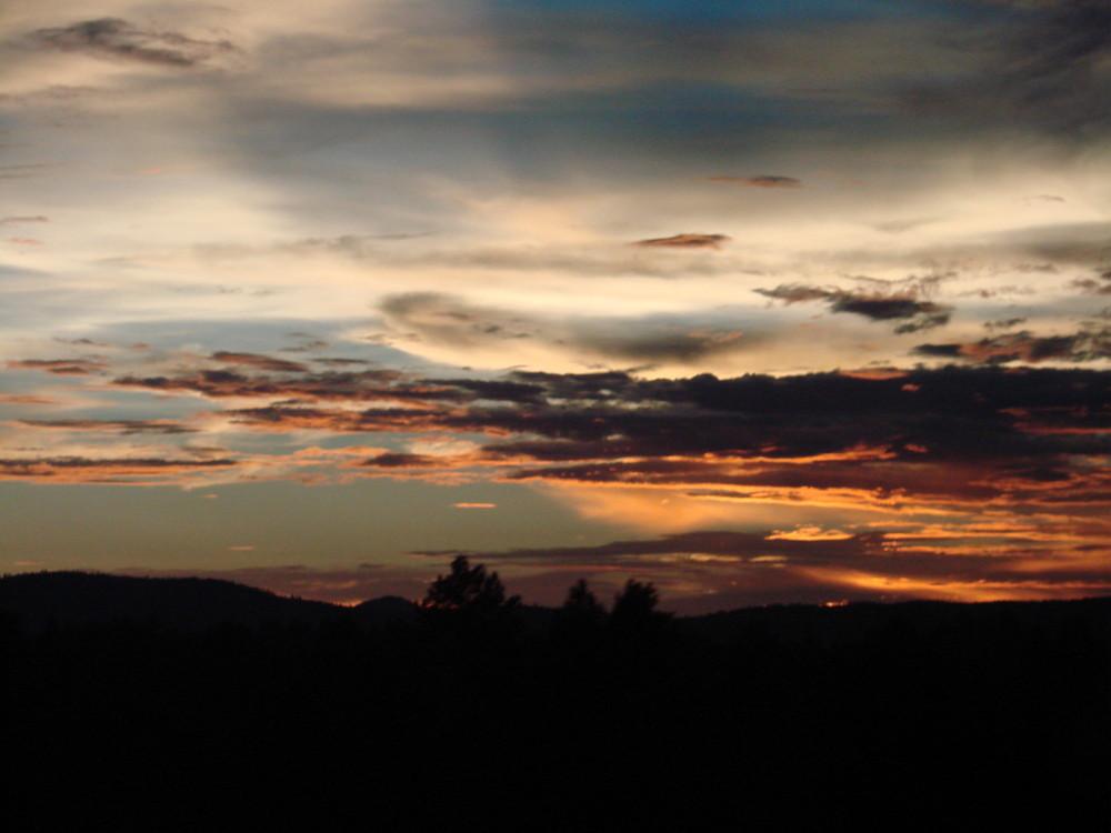sonnenuntergang in arizona