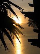 Sonnenuntergang in Asien