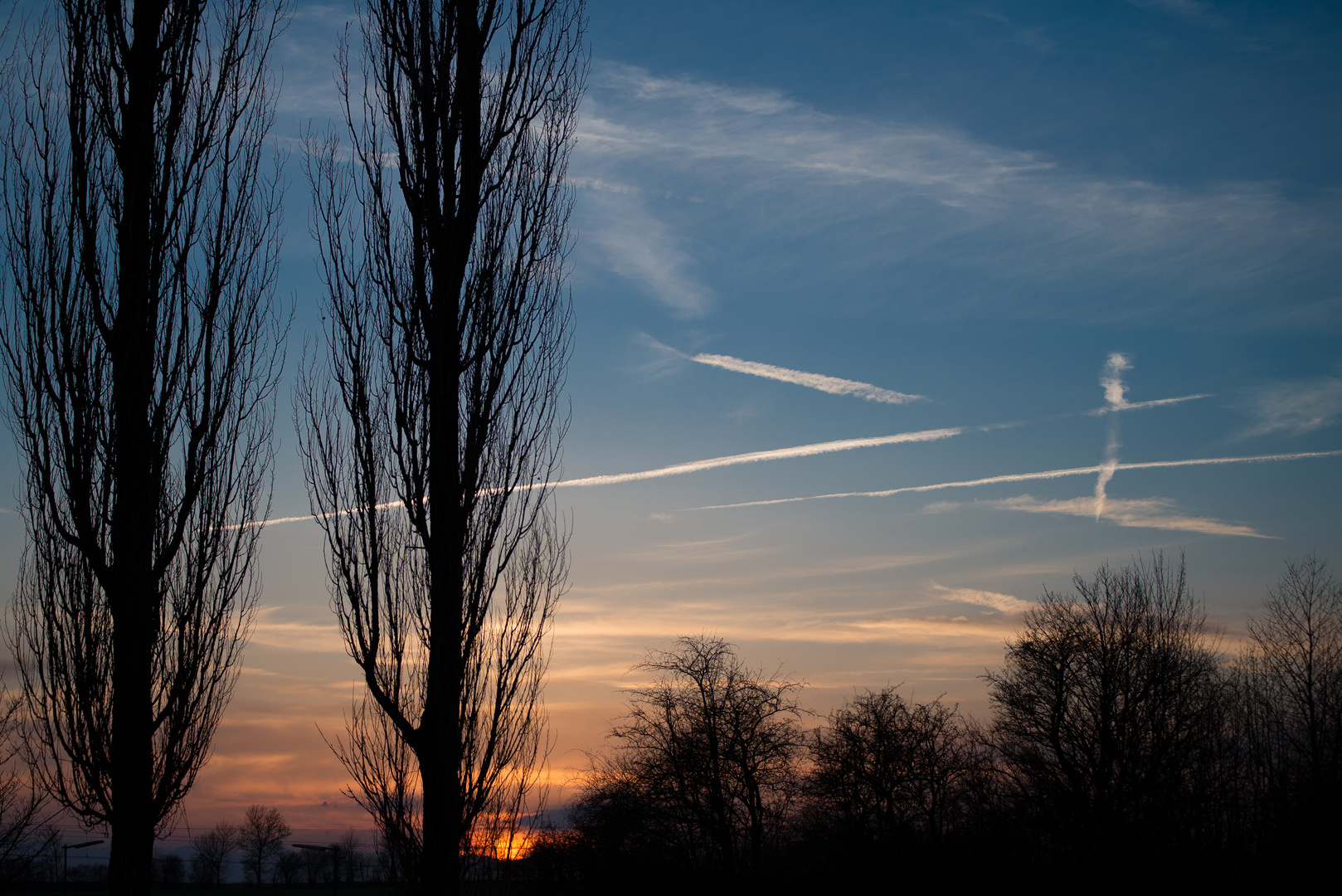 Sonnenuntergang in Batzhausen