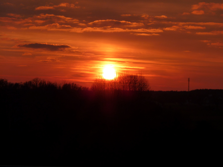 Sonnenuntergang in Brandenburg