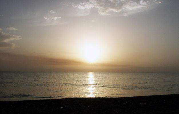 Sonnenuntergang in Calabrien