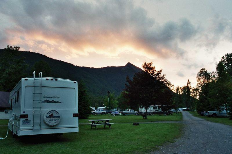 Sonnenuntergang in Canada