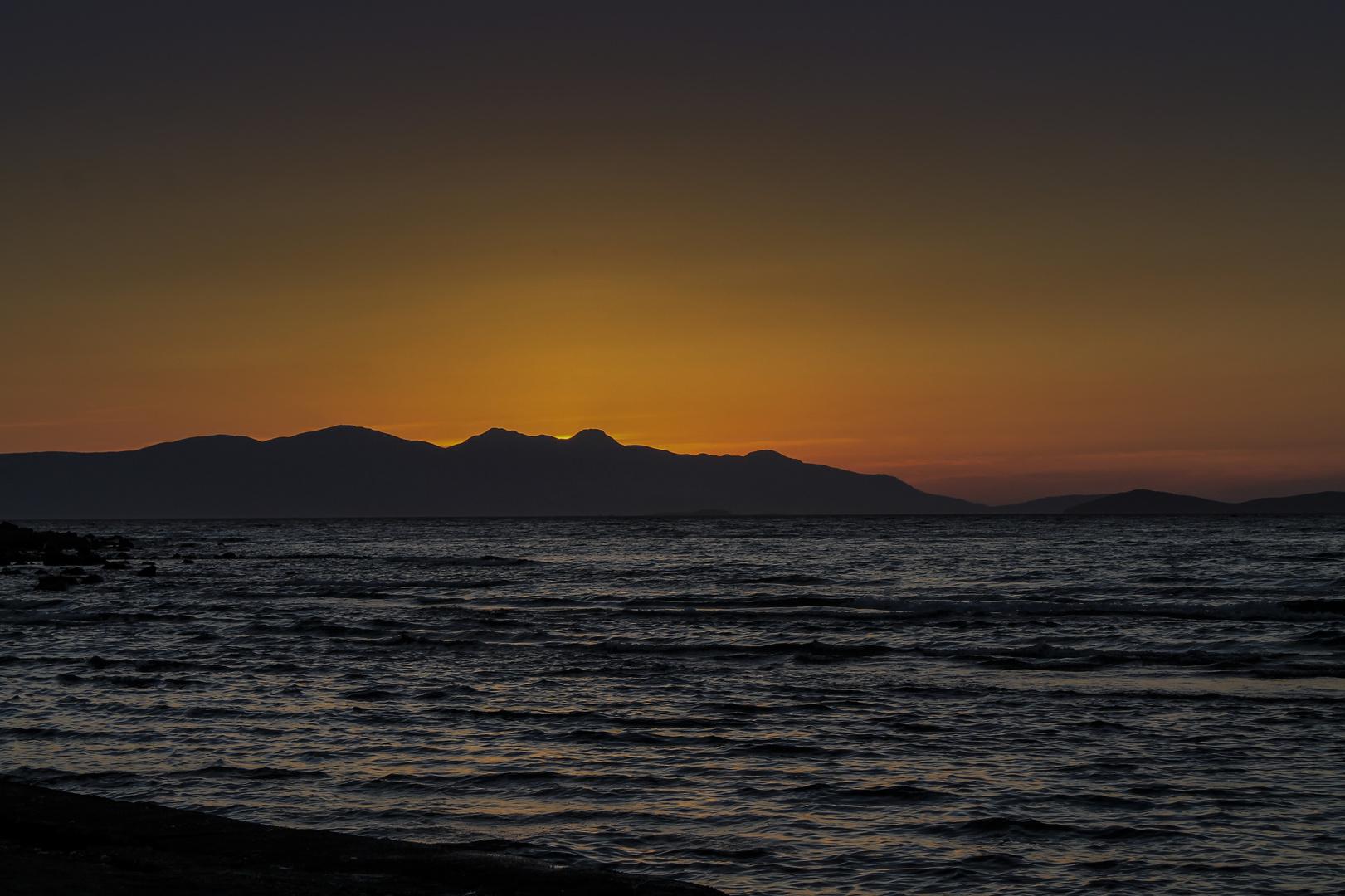 Sonnenuntergang in Cesme - Tr