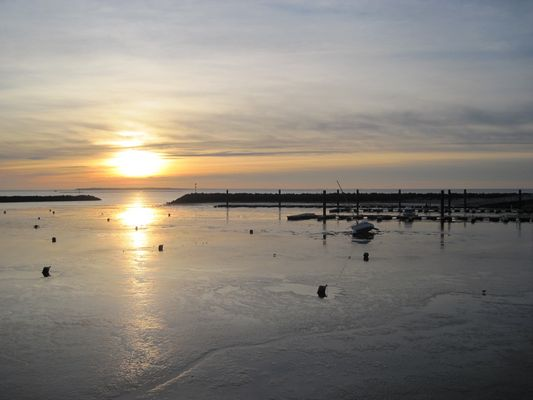 Sonnenuntergang in Châtelaillon-Plage
