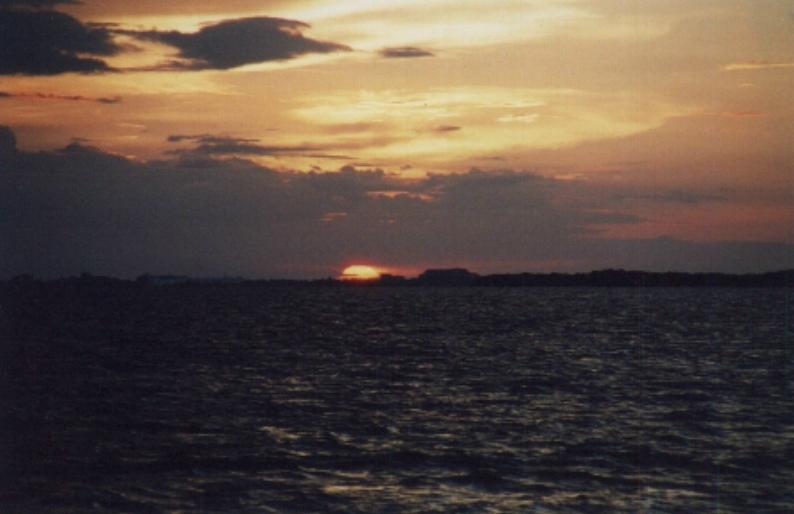 Sonnenuntergang in Cuba