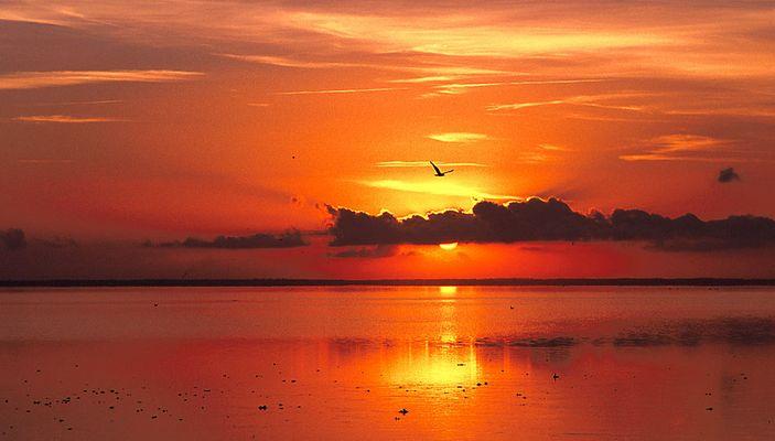 Sonnenuntergang (in Dänemark)