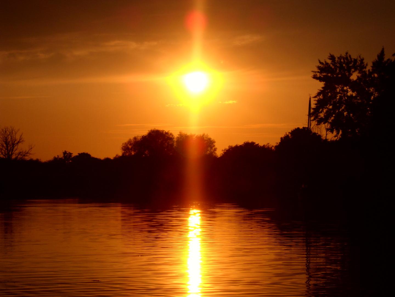 Sonnenuntergang in Damgarten