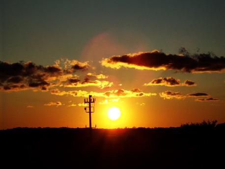 Sonnenuntergang in DAMP