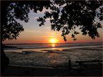 Sonnenuntergang in Dangast