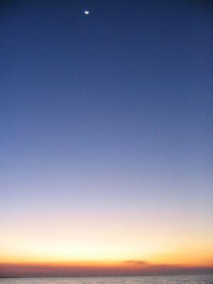 Sonnenuntergang in Darwin