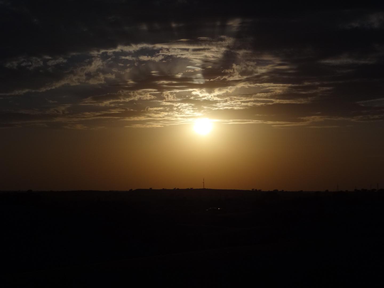 Sonnenuntergang in de Wüste Thar
