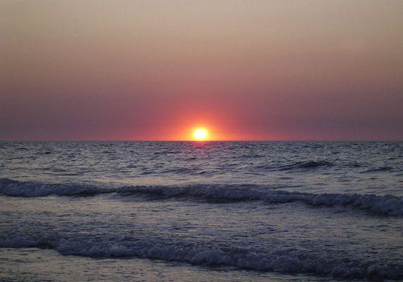 Sonnenuntergang in Den Osse