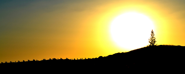 Sonnenuntergang in der Algarve