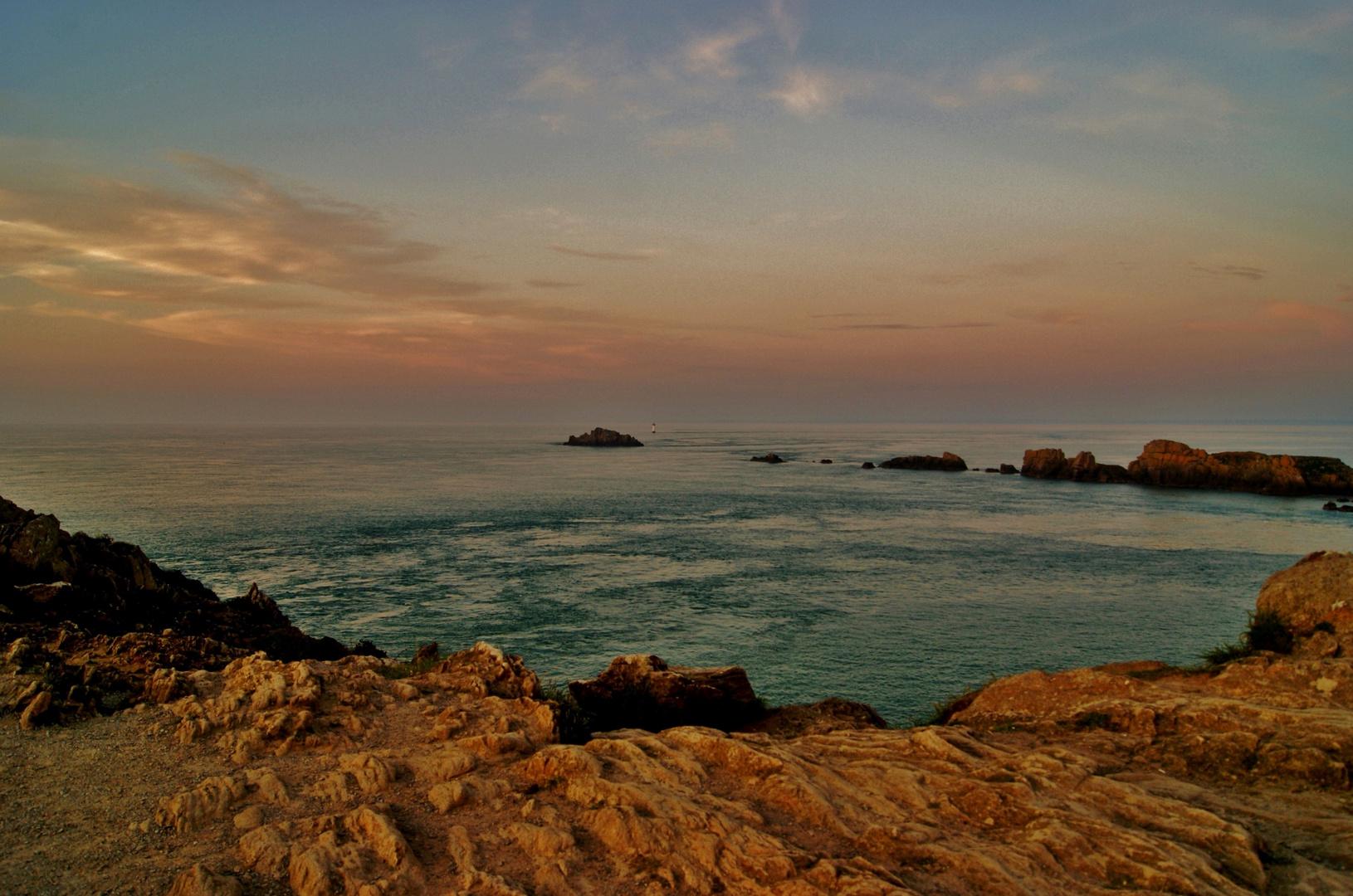 Sonnenuntergang in der Bretagne_3