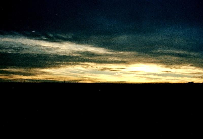 Sonnenuntergang in der Eifel 2