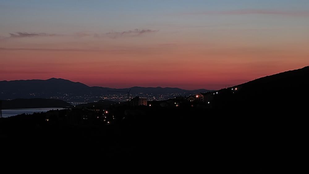 Sonnenuntergang in der Kvarner Bucht