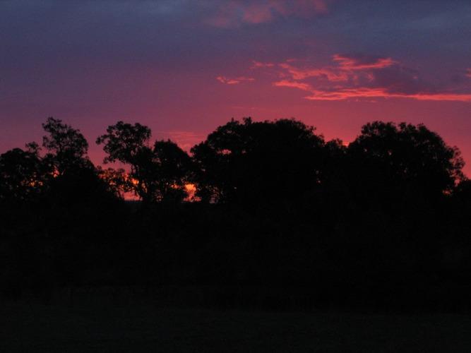 Sonnenuntergang in der Nähe von den the 12 Apostels