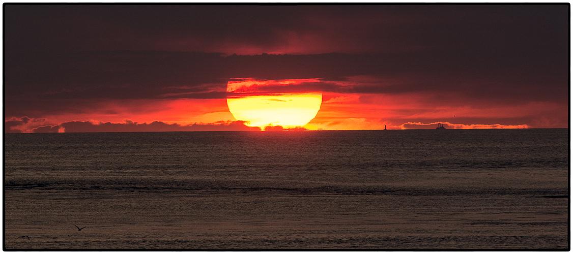 ° Sonnenuntergang in der Nordsee °