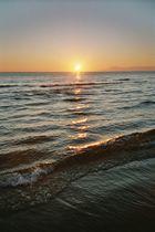 Sonnenuntergang in der Südtürkei