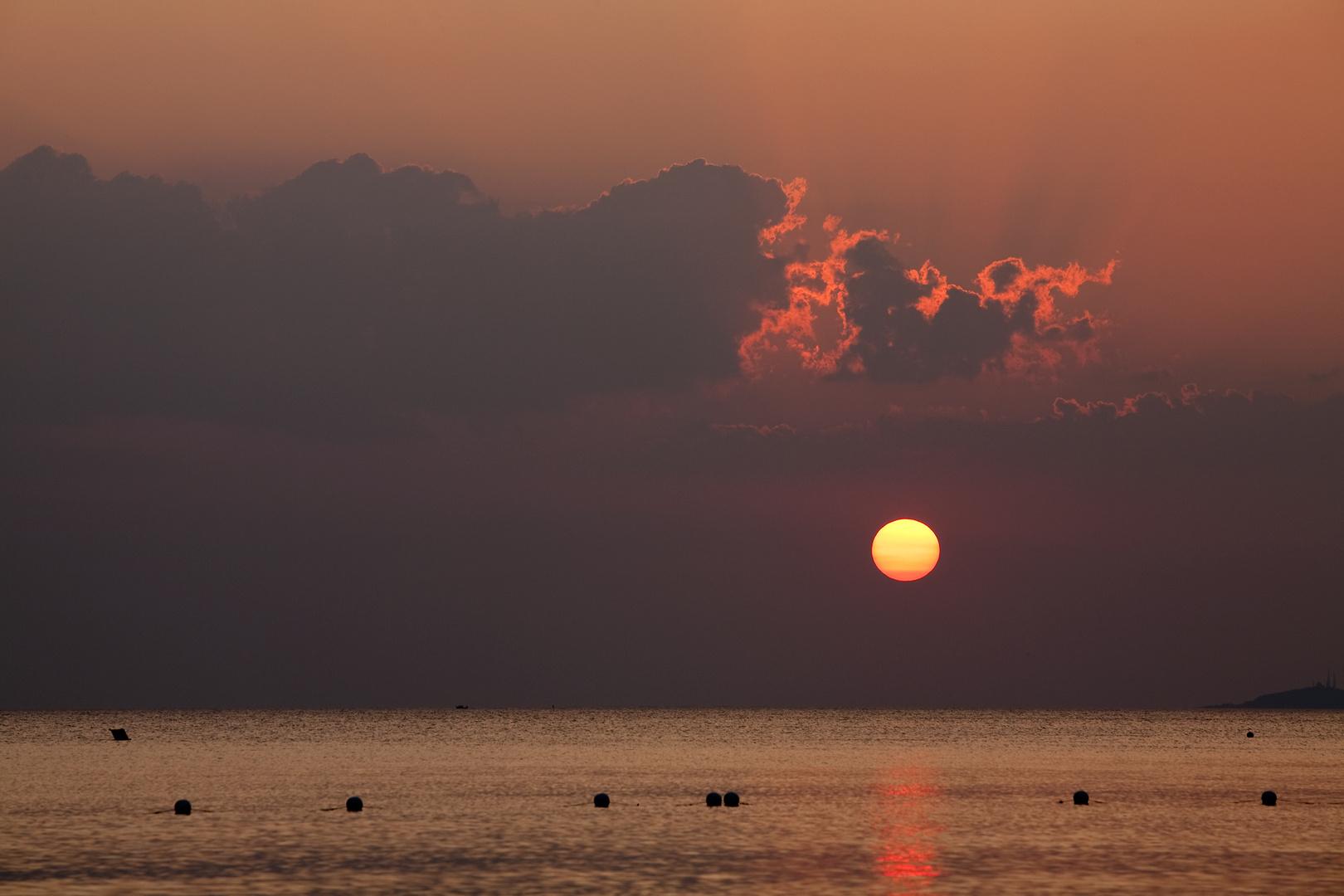 Sonnenuntergang in der Toscana