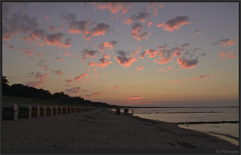 Sonnenuntergang in der Tromper Wieck
