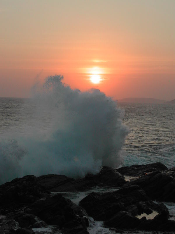 Sonnenuntergang in Dickwela Sri Lanka d