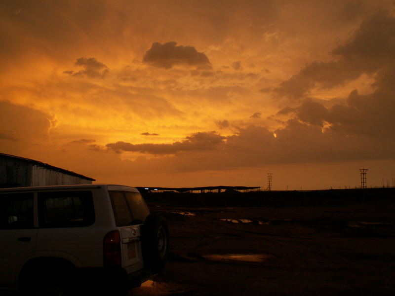 Sonnenuntergang in Dire Dawa