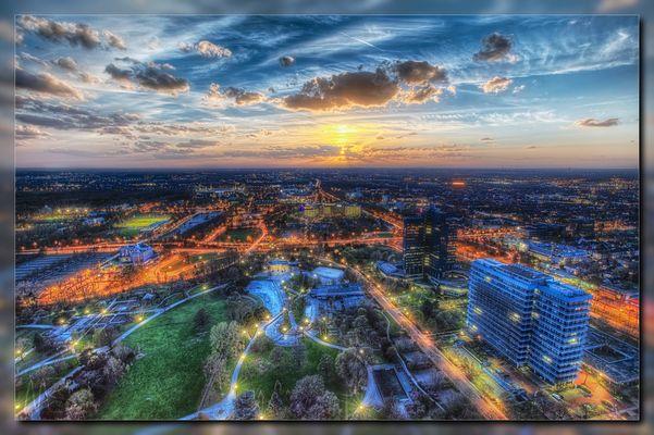 Sonnenuntergang in Dortmund