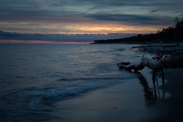 Sonnenuntergang in Dueodde