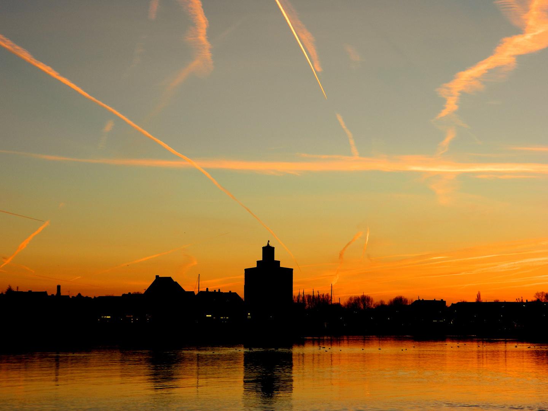 Sonnenuntergang in Eckernförde :)