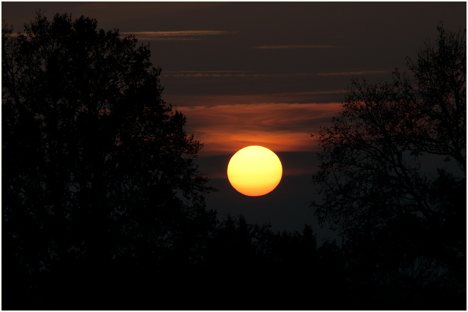 Sonnenuntergang in Eißel