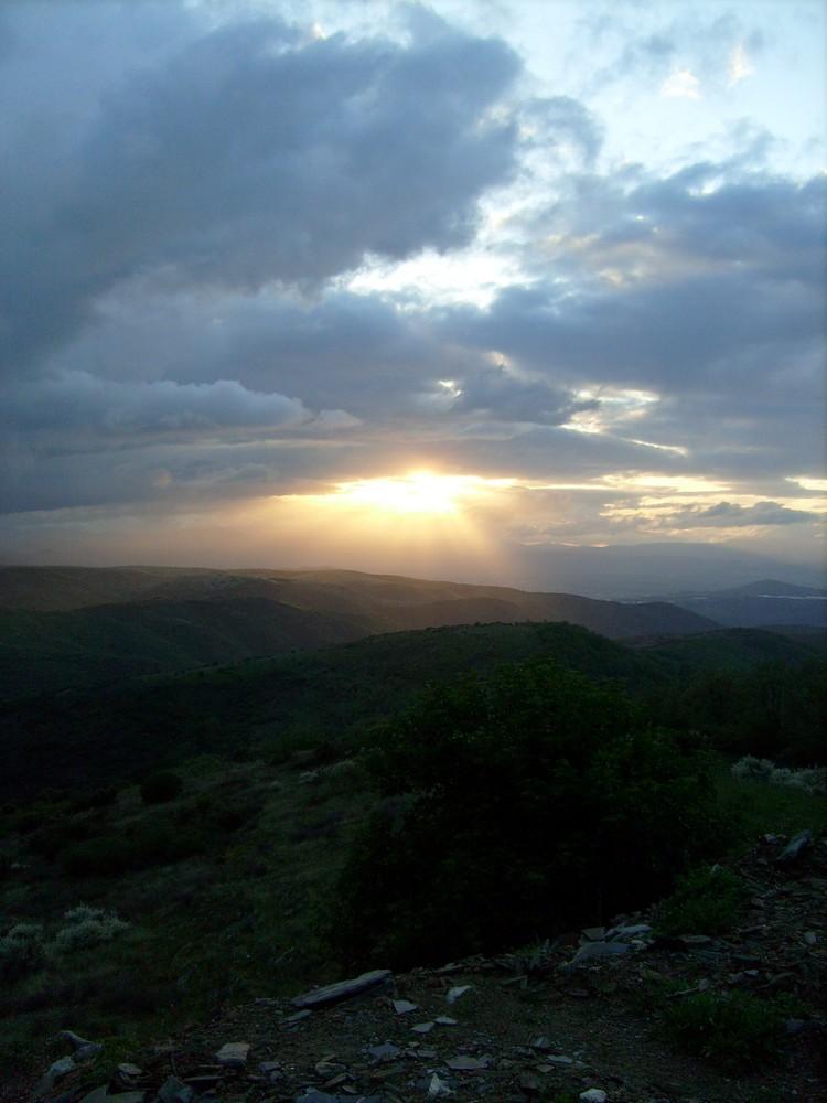 Sonnenuntergang in El Acebo